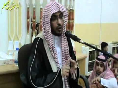 محاضرة الشيخ صالح المغامسي بمحافظة رفحاء