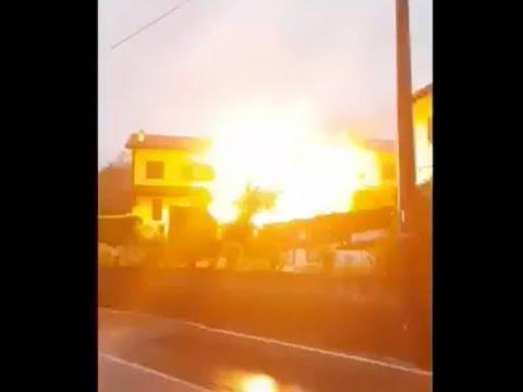 L'esplosione di Fino Mornasco