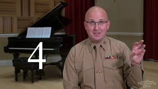 "What is a Time Signature? - ""The President's Own"" U.S. Marine Band"