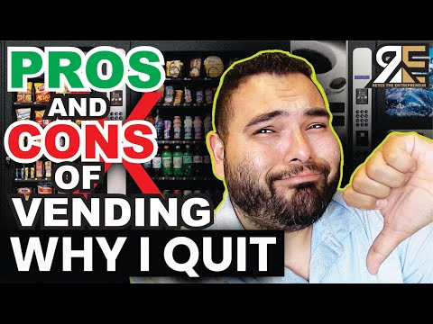 , title : 'Why I QUIT My VENDING MACHINE BUSINESS and PROS and CONS
