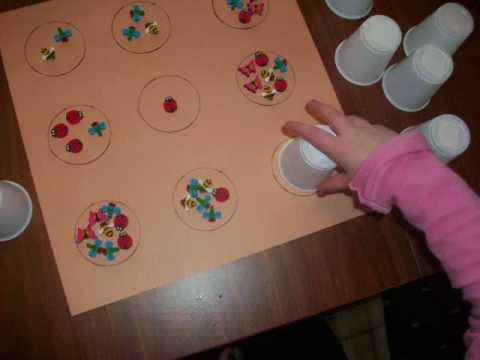 Screenshot of video: Numeracy and fine motor idea