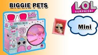 LOL Surprise BIGGIE PETS 4 Series | ОГРОМНЫЕ Питомцы ЛОЛ ДЕКОДЕР