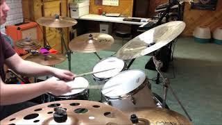 Devo- Space Junk (Drum Cover)