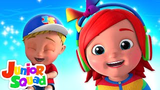 Ha Ha Song For Kids   Nursery Rhymes For Children   Baby Songs By Junior Squad