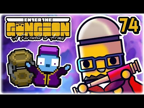 Chest Teleporter | Part 74 | Let's Play: Enter the Gungeon: Farewell to Arms | PC HD