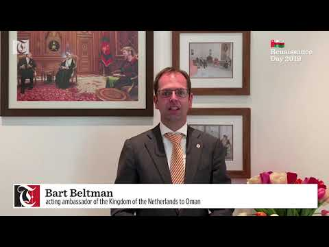 Renaissance message from Bart Beltman, acting ambassador of the Kingdom of the Netherlands to Oman