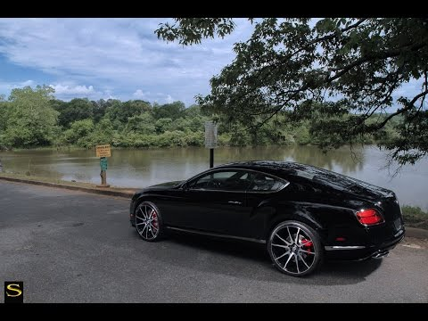 Bentley GT V8 S | Black di Forza BM12 | Savini Wheels | Butler Tires & Wheels