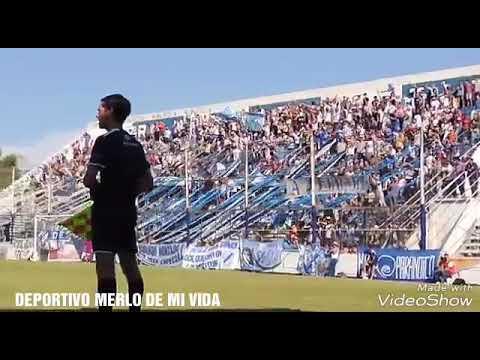 """""""Deportivo Merlo 2 - 1 Ituizango. La fiesta en las trubunas y el gol F. Benitez"""" Barra: La Banda del Parque • Club: Deportivo Merlo"""