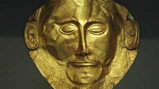 Mask of Agamemnon, Mycenae, c. 1550-1500 B.C.E.