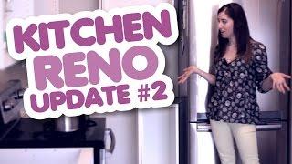 Our Kitchen Reno! (Update #2): OMG, Its A Galley Kitchen!