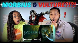 """""""Morbius"""" Official Teaser Trailer REACTION!!!"""