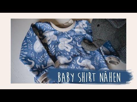 Baby Langarmshirt nähen (kostenloses Schnittmuster) // Mama Vlog