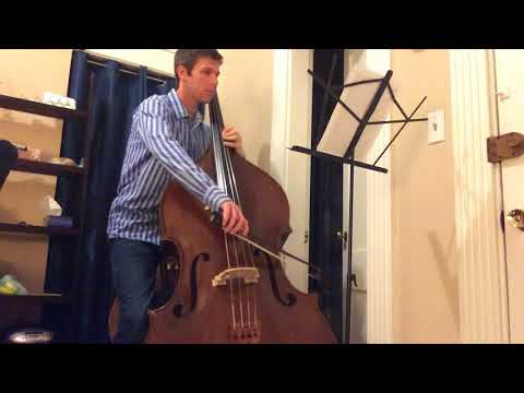 "Bach Cello Suite No.1 Movement 6 ""Gigue"" (double bass)"