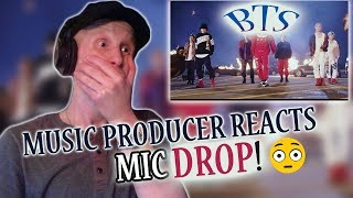 Music Producer Reacts to BTS (방탄소년단) 'MIC Drop (Steve Aoki Remix)