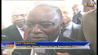 APC Opens Defence As Third Respondent At The On-going Edo Governorship Election Petition Tribunal