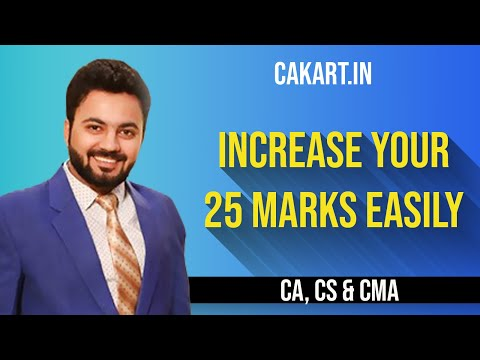 Increase Your  20-25 marks easily by prof Divay Miglani