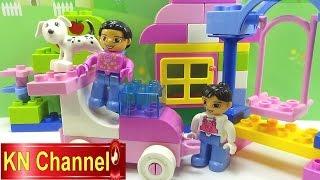 Đồ chơi trẻ em Lego Bé Na lắp ghép Bạn đến chơi nhà Stop motion Kids toys