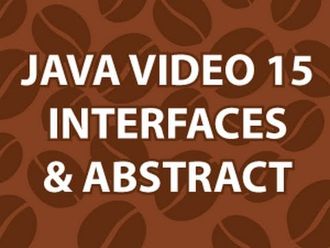 Java Video Tutorial 15