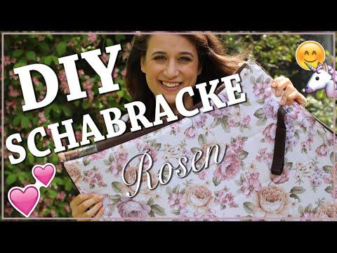 DIY SCHABRACKE selber nähen ✮ Blumenstoff / Rosenmuster ♥ Pimp my Schabracke