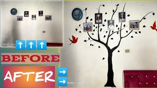 FAMILY TREE WALL DESIGN | WALL PAINTING IDEAS | SAY NO TO BORING WALLS
