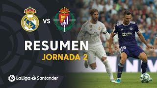 Highlights Real Madrid vs Real Valladolid (1-1)