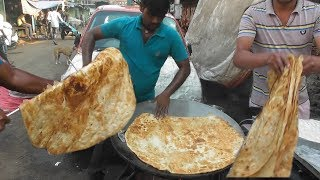 World Big Paratha with Halua @10 rs ($0.14) Only | Best & Cheap Street Food Mumbai
