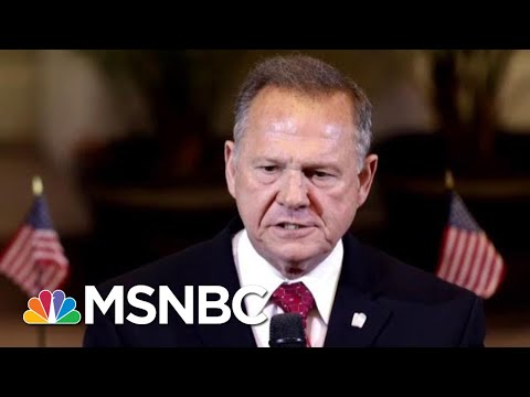 Roy Moore To Run For Senate Again Despite Sexual Misconduct Allegations,   Velshi & Ruhle   MSNBC