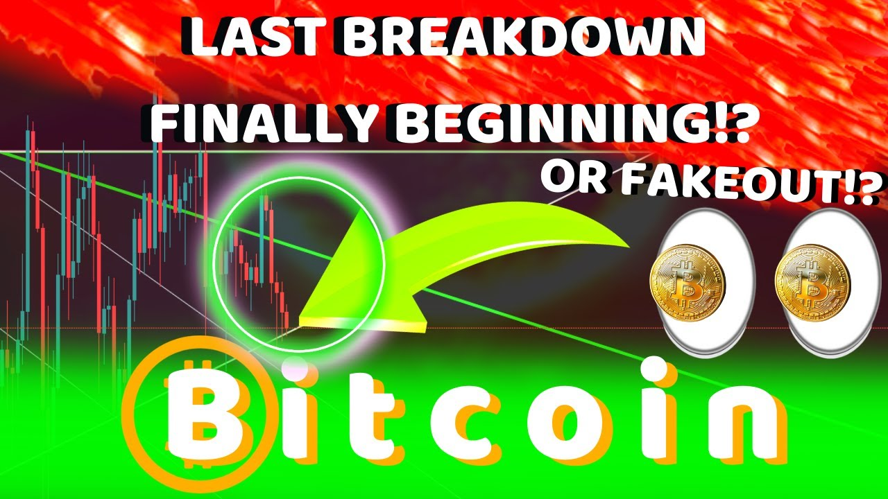 BITCOIN FINALLY BEGINNING LAST MOVE TO COMPLETE 8 MONTH PATTERN?? BIG WARNING – MOST LIKELY SCENARIO #Bitcoin #BTC