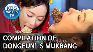 Compilation of Dongeun's Mukbang [Editor' s Picks / Boss in the Mirror]