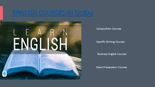 Learn English speaking - English courses in dubai