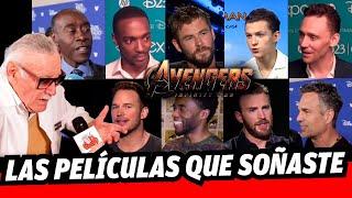 Camino a Avengers Infinity War: Las mejores entrevistas del Universo Marvel en Combo