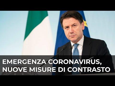 Palazzo Chigi, 09/03/2020 - Dichiarazioni alla stampa del Presidente del Consiglio, Giuseppe Conte.