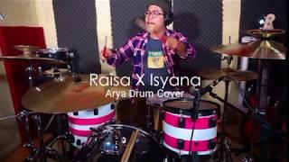Isyana X Raisa - Anganku Anganmu (Arya Drum Cover)