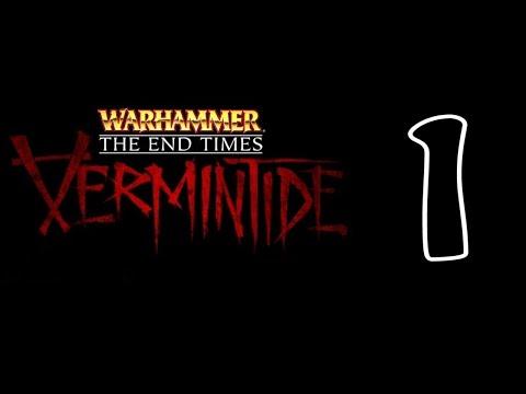 Warhammer End Times Vermintide Прохождение На Русском Часть 1 Охотник на ведьм Рог Магна