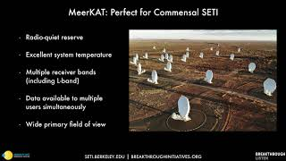 The Search for Extraterrestrial Intelligence with MeerKAT and Breakthrough Listen