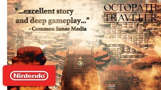 Octopath Traveler - Accolades Trailer - Nintendo Switch - Video Youtube