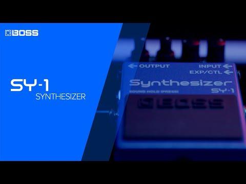 ה-SY-1 - פדל סינתים פוליפוני לגיטרה, ללא פיקאפ מידי, מ-Boss