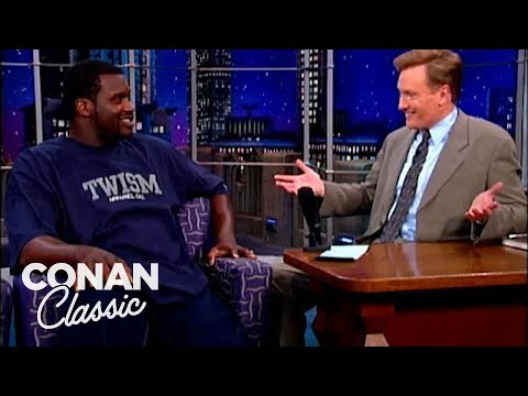 """Shaquille O'Neal Lists His Favorite Cereals – """"Late Night With Conan O'Brien"""""""