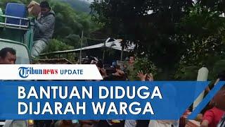 Viral Video Bantuan Gempa Majene Diduga Dijarah Warga, Ada yang Membawa Parang