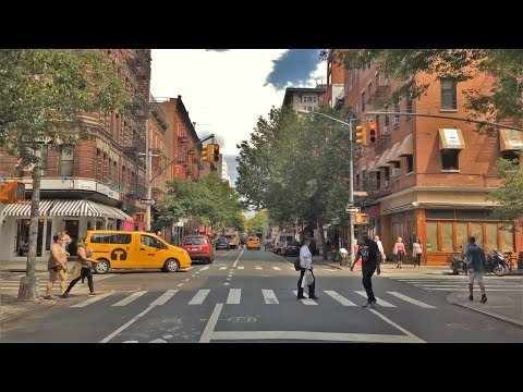 Download Driving Downtown - Greenwich Village 4K - New York City USA HD Mp4 3GP Video and MP3