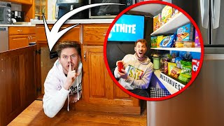 ULTIMATE HIDDEN SNACK PANTRY! *Secret Entrance*