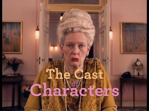 The Grand Budapest Hotel ('Meet the Cast' Trailer)