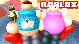 GETTING FAT IN ROBLOX