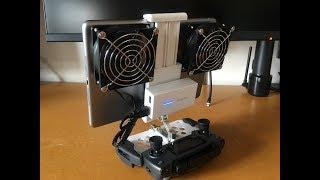 タブレットの熱暴走対策 DJI MavicPro Cooling Fan For IPad Air
