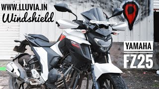Top 5 Modifications For Yamaha FZ25 | Lluvia Windshield Installation Guide