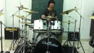 Shitalchandr on the drums - shitalchandra