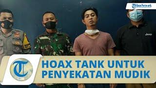 Viral Video Tank Baja untuk Penyekatan Mudik, Kapendam Jaya; Itu Hoax, Pelaku Sudah Minta Maaf