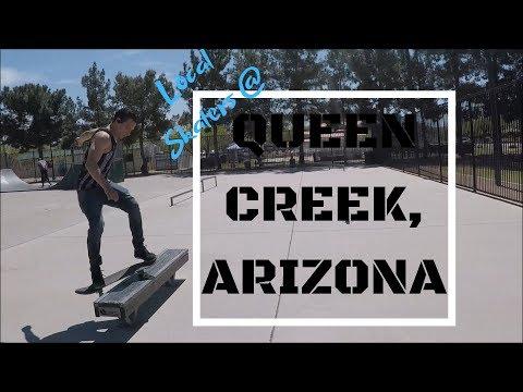 Local Skaters at Queen Creek Skate Park Queen Creek, AZ