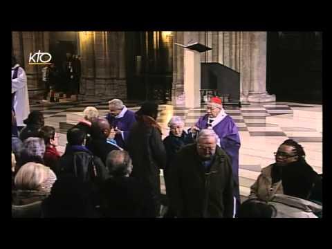 procession et messe des Cendres