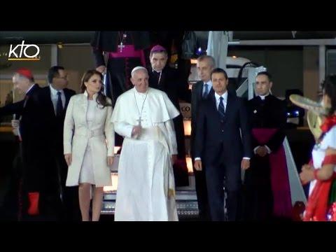 Le Pape François est arrivé au Mexique